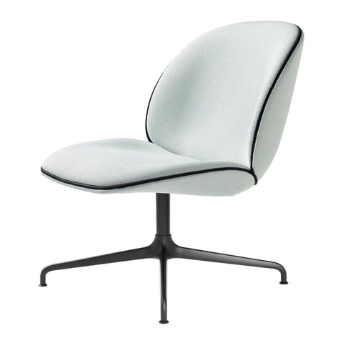 Armchair Beetle, middle leg, different fabrics and metal finishes - Nordic Design Home