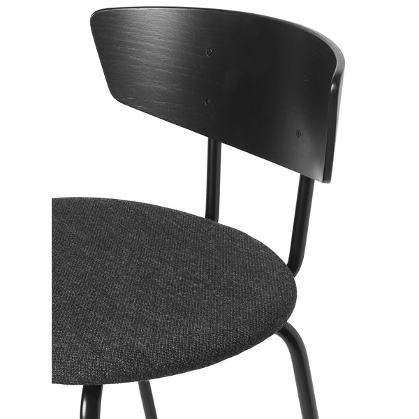 Bar chair Herman, low, textile cover, different colors - Nordic Design Home