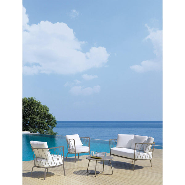 Outdoor sofa Desiree, double, different colors - Nordic Design Home