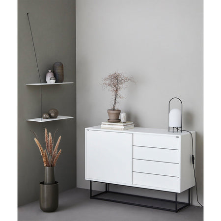 Chest of drawers Virka, white - Nordic Design Home