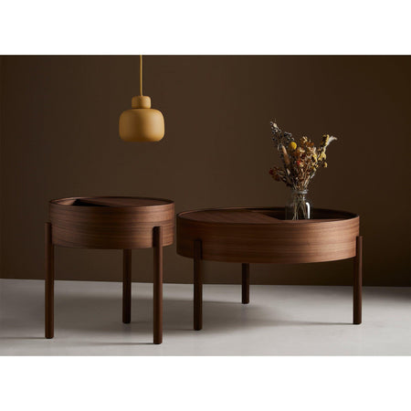 Coffee table Arc large, walnut - Nordic Design Home
