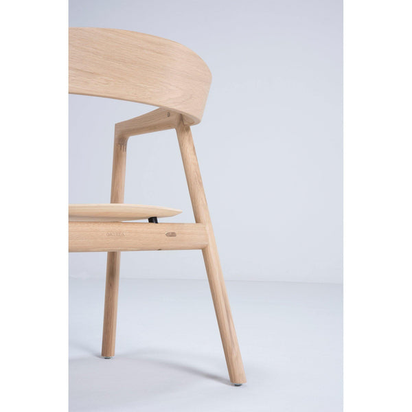 Armchair with egg plywood seat, different finishes