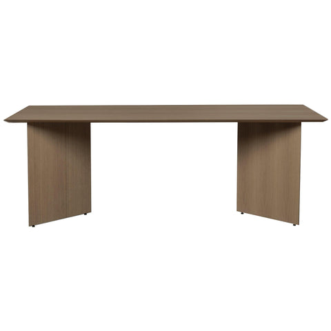 Dining table Mingle with wooden legs, rectangular 210x90cm, different finishes