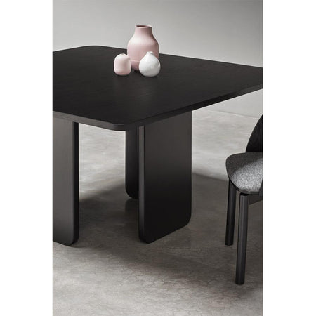Dining table Arq 137x137cm, black