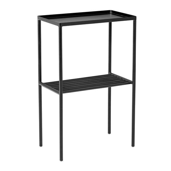 Side table Grid, black