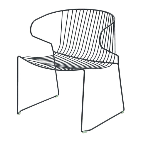 Armchair Bolonia, stackable, different colors - Nordic Design Home