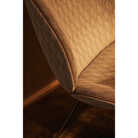 Armchair Beetle, different fabrics and wood finishes - Nordic Design Home