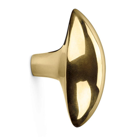 Hanger / cabinet knob Lemon, different finishes
