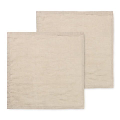Napkins Linen Napkin 45x45cm, double set, different colors