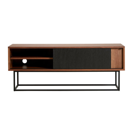 Chests of drawers / TV scale Virka, walnut / black - Nordic Design Home