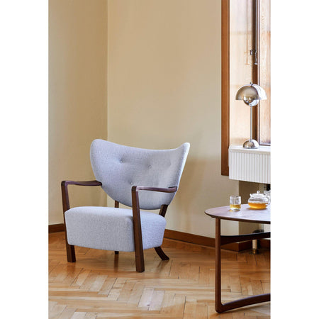 Armchair Wulff ATD2, various upholstery and wood finishes - Nordic Design Home