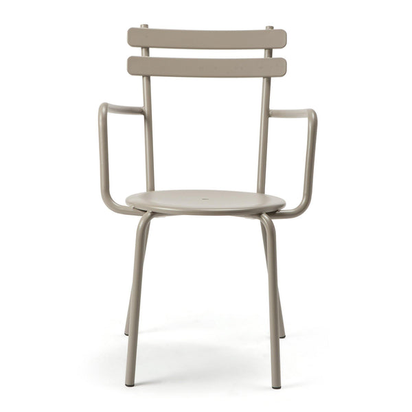 Garden chair Grace with armrests, different colors, double set
