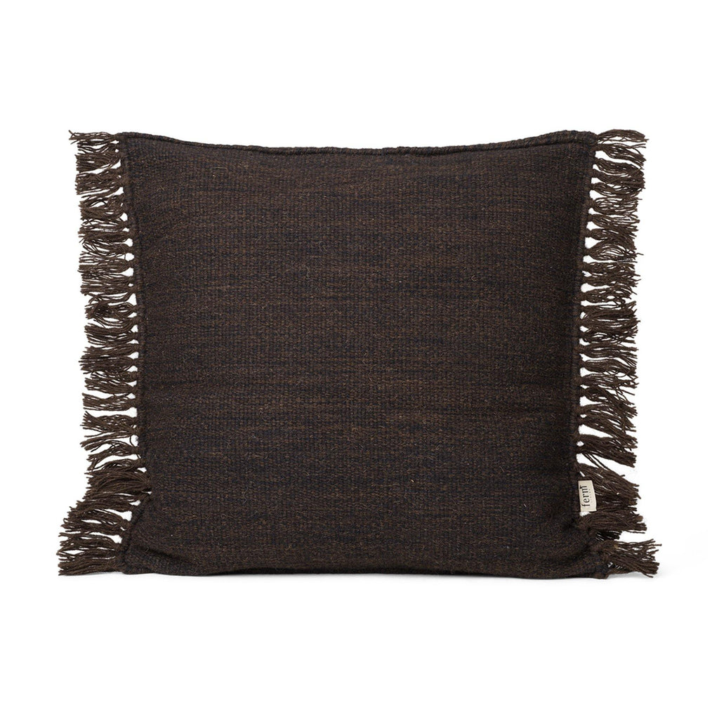 Decorative pillow Kelim Melange 50x50cm, dark brown