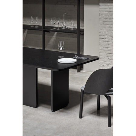 Dining table Arq 200x100cm, black