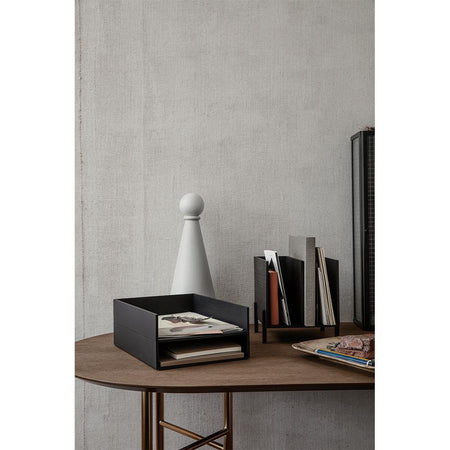 Stackable organizer Letter Tray, black - Nordic Design Home