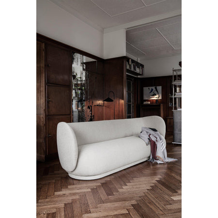 Sofa Rico, four-seater 260cm, different fabrics and tones