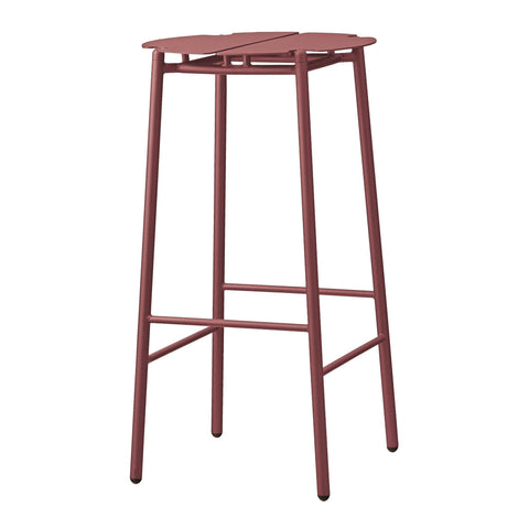 Bar stool Novo, burgundy