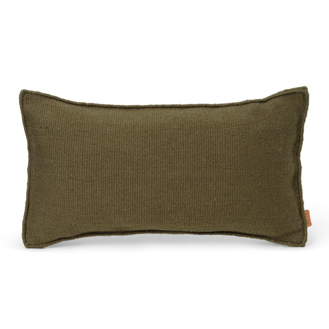 Decorative pillow 53x28cm, olive green