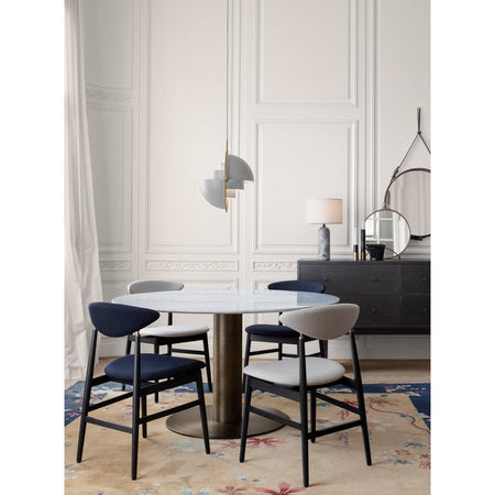Dining chair Ghent, various wood finishes and fabrics - Nordic Design Home