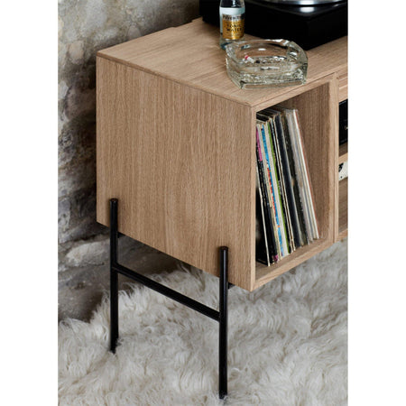 Chest of drawers / wall cabinet Hifive 100cm, different wood finishes - Nordic Design Home