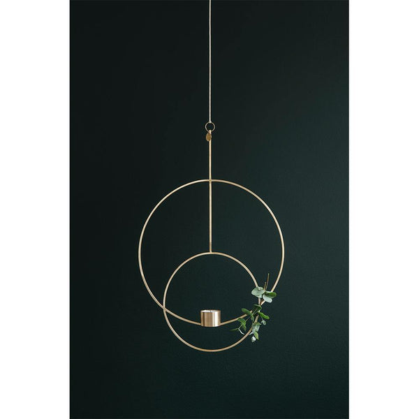 Candlestick Deco, oval, different finishes - Nordic Design Home