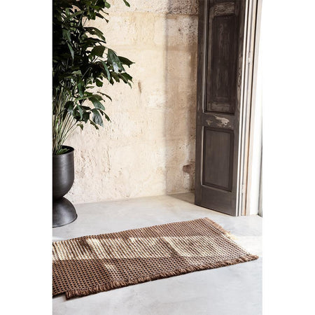 Carpet Way 70x180cm, brown