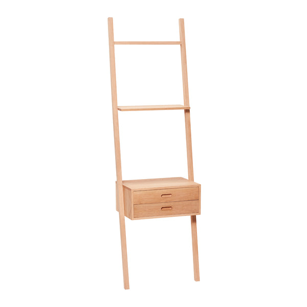 Ladder with drawers Form