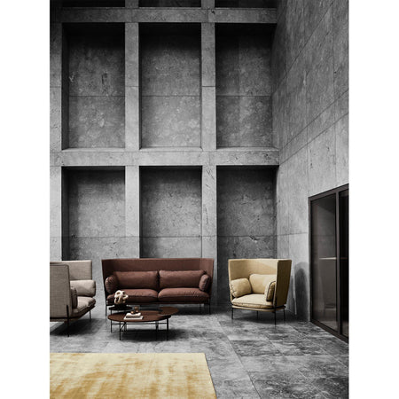 Sofa Cloud LN7, different leg finishes and fabrics - Nordic Design Home