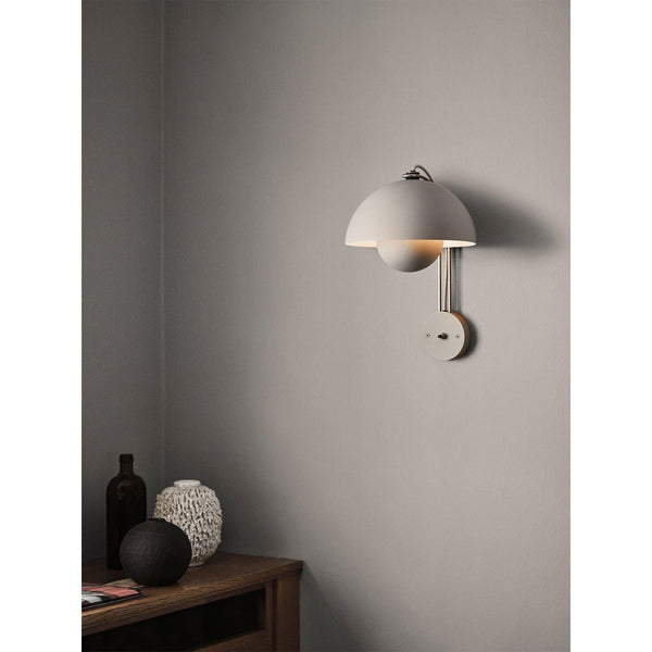 Wall lamp Flowerpot VP8, 35xØ23cm, wired or without, different colors