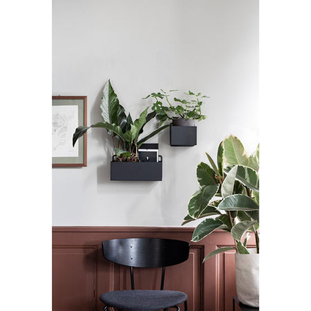 Wall-mounted box, square 14x14cm, different colors