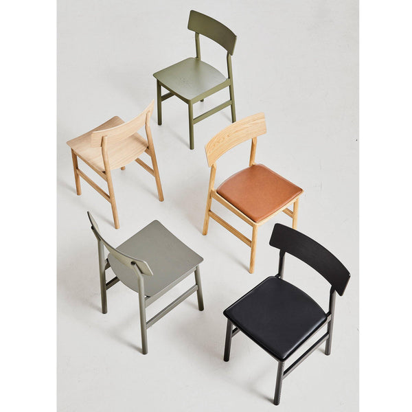 Dining chair Pause 2.0, white oak - Nordic Design Home