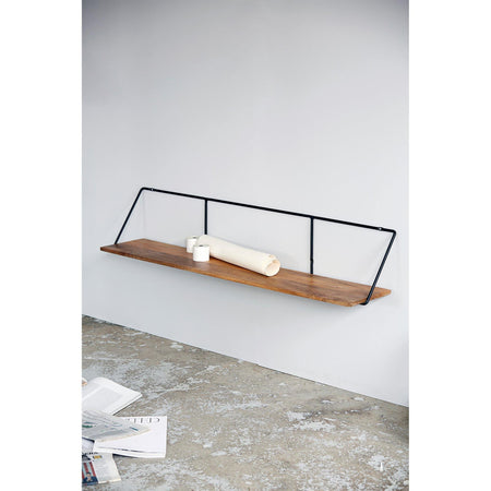 Shelf Wired, natural, 130cm