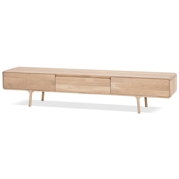 Fawn TV scale, with three drawers, 220cm