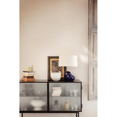 Chest of drawers Haze black, 110x40xh90cm