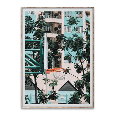 Cities of Basketball 01 (Hong Kong) / Kasper Nyman, different sizes - Nordic Design Home