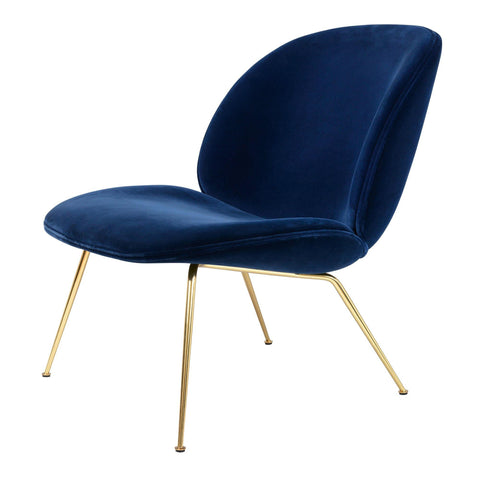 Armchair Beetle, different fabrics and metal leg finishes - Nordic Design Home