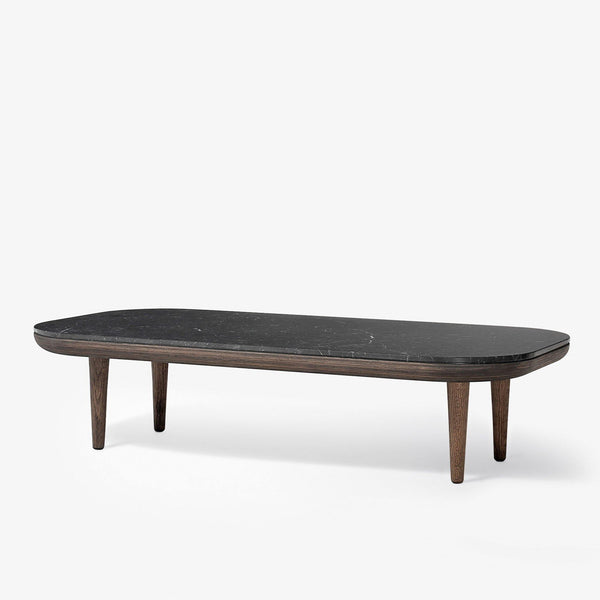Coffee table Fly SC5, various marble and wood finishes
