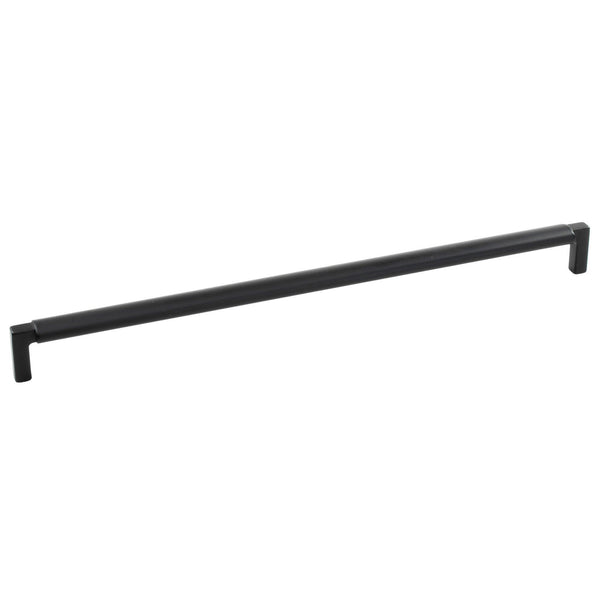 Lecco handle, matt black, different sizes