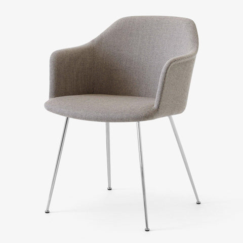 Dining chair Rely HW35, different fabrics & leg finishes - Nordic Design Home