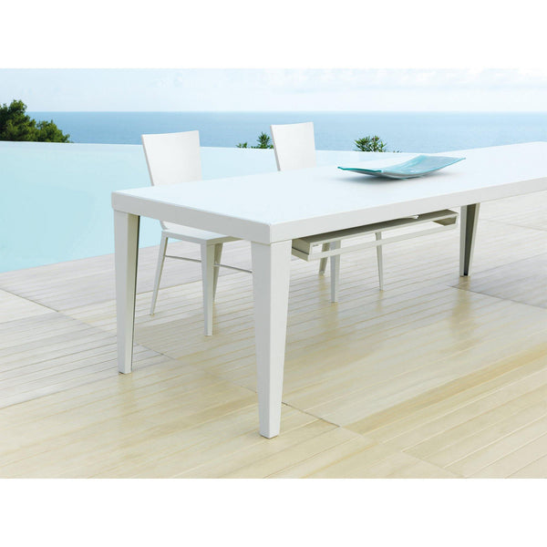 Extendable dining table Skyline, different colors, 250-400cm
