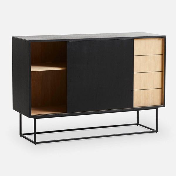 Chests of drawers Office, black / oak