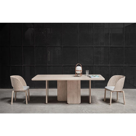 Dining table Arq 200x100cm, natural