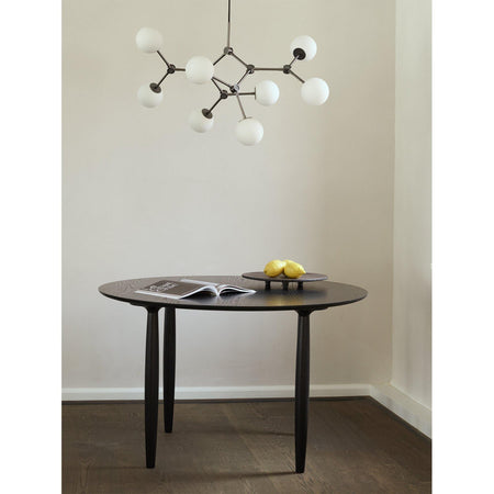 Chandelier Drop Bulp, 71cm, oxidized metal