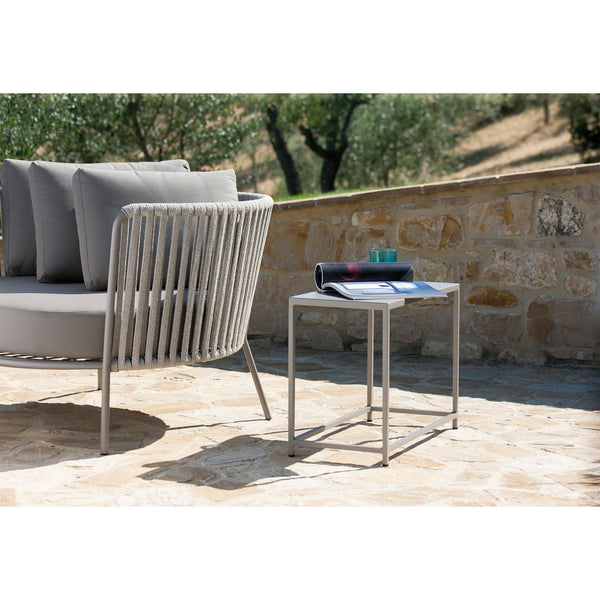 Outdoor chair Desiree Rope Lounge, different colors - Nordic Design Home