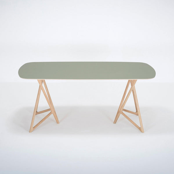 Dining table Koza green, different sizes - Nordic Design Home