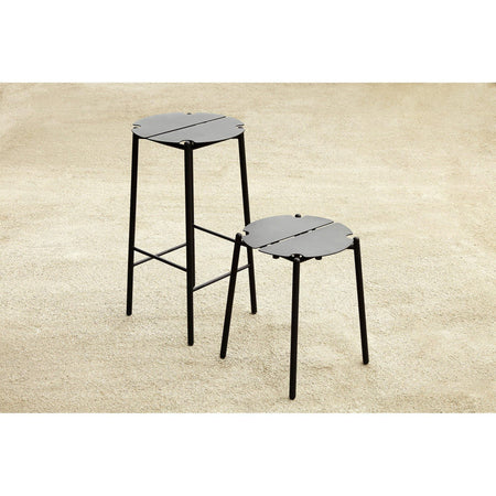 Bar stool Novo, black