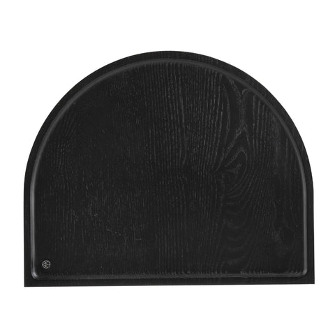 Tray Session, curved, black - Nordic Design Home