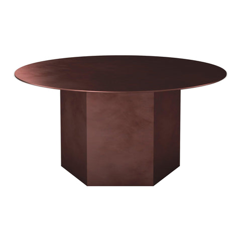 Coffee table Epic Ø80cm, steel, different colors