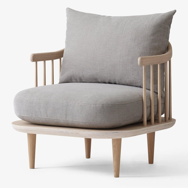 Armchair Fly SC10, various fabrics and wood finishes