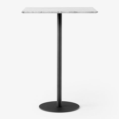Bar table In Between SK21 60x70cm, white marble, different leg finishes